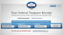 Click here to read Your Federal Taxpayer Receipt Details Where Your Tax Dollars Are Going This Year