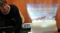 Click here to read The Displair Combines A Fog Machine, Touchscreen, and Awesomeness