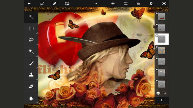 Click here to read Adobe Photoshop Touch for iPad Is Here