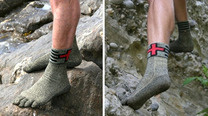 Click here to read Would You Wear An Extra Tough Pair Of Socks Instead Of Shoes?