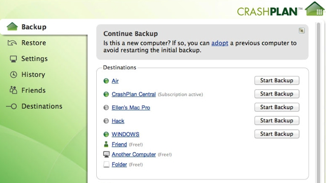 Click here to read How to Move Your CrashPlan Backups to a New Computer