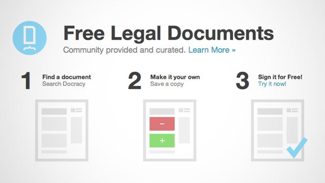 Click here to read Docracy Provides Free Legal Documents for Many Common Situations