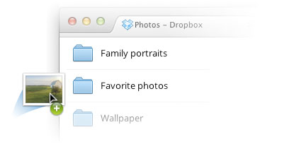 Dropbox enables drag-and-drop uploads on web browser