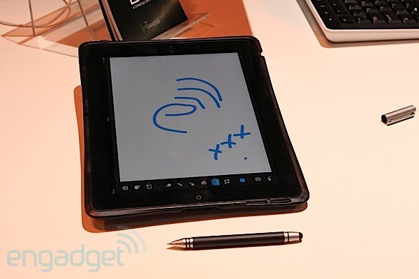 Wacom Bamboo Stylus Duo, lets you draw something on tablets and paper