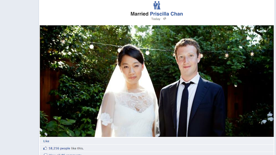 Click here to read Zuck's Facebook Wedding Cost $7 Million