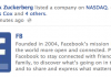 Zuck Publishes To Timeline As He Lists Facebook On NASDAQ