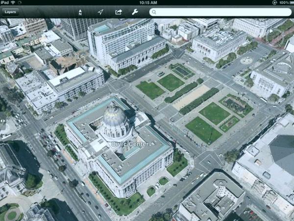Google Maps, Earth take on full 3D maps